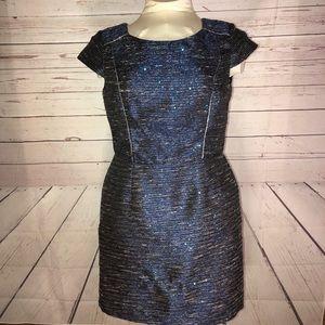 Leslie Fay Tweed Dress Size 14